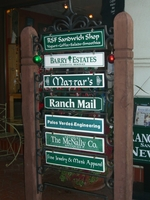 Old Post and Panel Example in Rancho Santa Fe