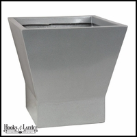 Olmstead Fiberglass Square Tapered Planter