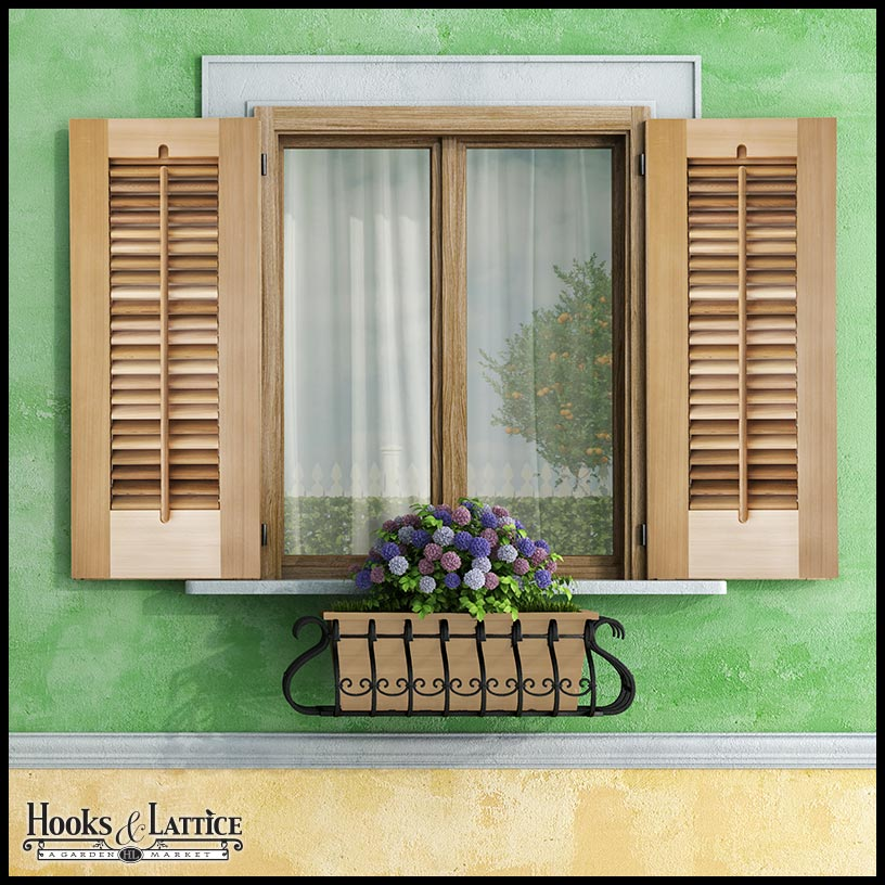 Operable Shutters operable louvered exterior shutters by hooks