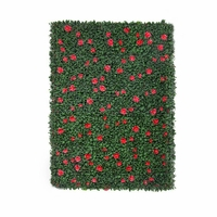 Outdoor Artificial Azalea Living Walls
