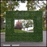 Outdoor Artificial Boxwood Frame