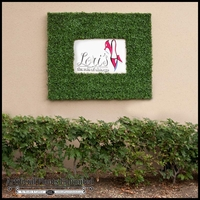 Outdoor Artificial Boxwood Frames