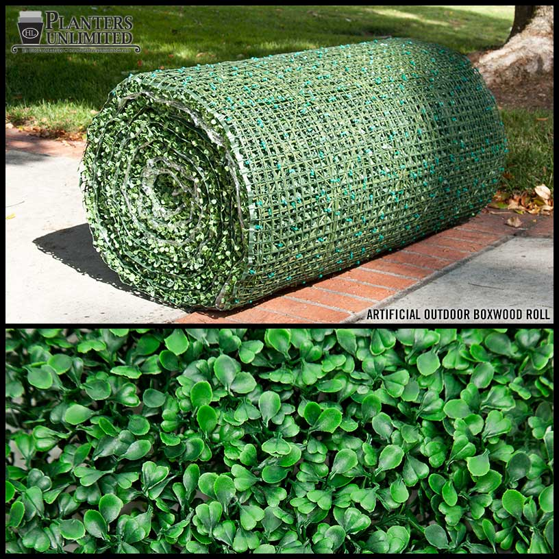 Artificial Boxwood Material Roll Outdoor Artificial Plants
