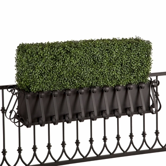 Outdoor Artificial Hedge Window Boxes