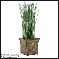 Outdoor Artificial Horsetail Reeds - By The Square Foot
