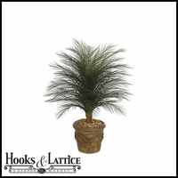 Outdoor Rated 3 ft Artificial Palm Bush