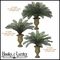 "Outdoor Rated 44"" Large Sago Palm Cluster"