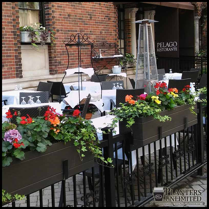 Restaurant Planters - Commercial Outdoor | Planters Unlimited