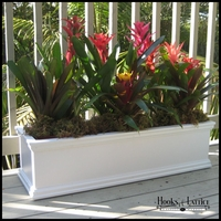 72in. Laguna Rectangular Premier Composite PVC Patio and Deck Planter