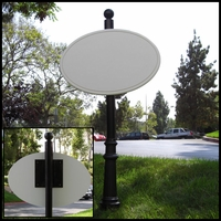 Premium Decorative Sign Mount System - Aluminum