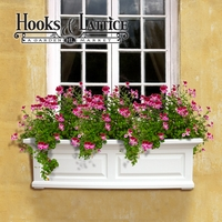 Presidential 48 in. Window Box - White