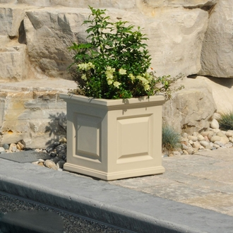 Presidential Square Patio Planters