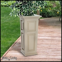 Presidential Tall Patio Planter - Clay
