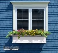 Provincial 48 in. Window Box Kit  - White