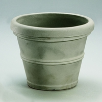 Queen Belaire 44in. Planter - Weathered Concrete