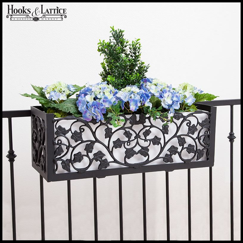 fence flower box hangers 3