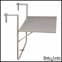Railing Planter Shelf - Grey