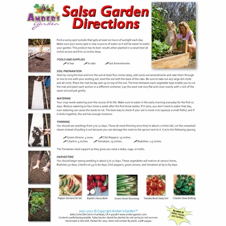 Ready to Plant Seed Starter Kit - Large Salsa Garden