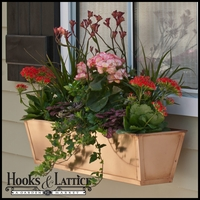 Real Copper Window Boxes/Decora Liners