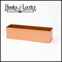 Real Copper Window Boxes, Planters & Liners
