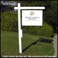 Real Estate Sign Blanks - 6 Pack
