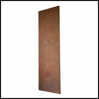 Real Metal Coated Fiberglass Designer Wall Panel 120in.L x 24in.W