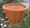 Residential Wood Planters