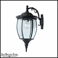 Reverse Victorian Outdoor Wall Fixture - 120V