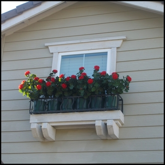 Riviera Window Planter (Finished on 4 Sides)