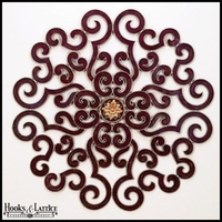 Round Scroll Decor (2 Colors)