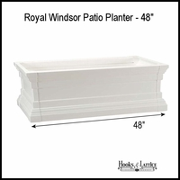 "Royal Windsor Patio Planters 48"" Long"