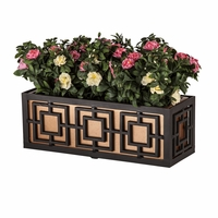 24in. Sofisticato Aluminum Window Box