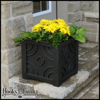 Savannah Patio Planter-Black