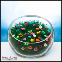 Scoop Terrarium - Rainbow Flowers