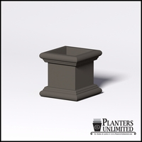Sienna Fiberglass Commercial Planter 20in.L x 20in.W x 20in.H