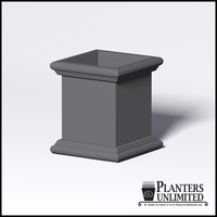 Sienna Fiberglass Commercial Planter 26in.L x 26in.W x 30in.H