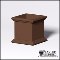 Sienna Fiberglass Commercial Planter 30in.L x 30in.W x 30in.H