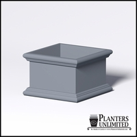 Sienna Fiberglass Commercial Planter 36in.L x 36in.W x 24in.H