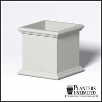 Sienna Fiberglass Commercial Planter 36in.L x 36in.W x 36in.H