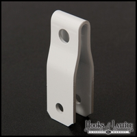 Sign Hanger for 1/2in. Substrate - White Powder Coat