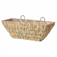 Silverglade Seagrass Tapered Window Basket