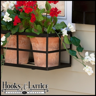 Simple Elegance Window Box Cages