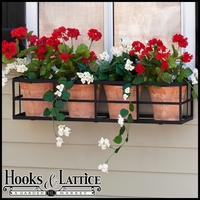 "72"" Simple Elegance Window Box Cage"