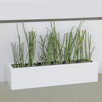 Small Urban Chic Fiberglass Porch Planters