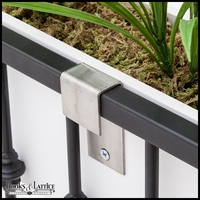 Stainless Steel Balcony Brackets (Pair)
