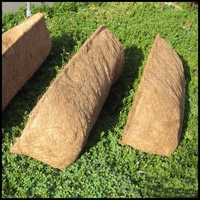 Standard Size Coco Coir Window Box Liners