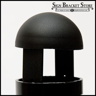 """Steel Domed Post Caps for 3"""" Post"""