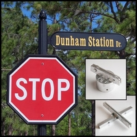 Street Sign Frames & Brackets