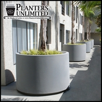 The Capri -  Round Outdoor Planter