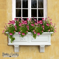 The Presidential Window Box - Five Colors To Choose From!
